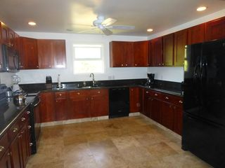 Anahola house photo - New Kitchen with Granite counter tops and loaded with appliances