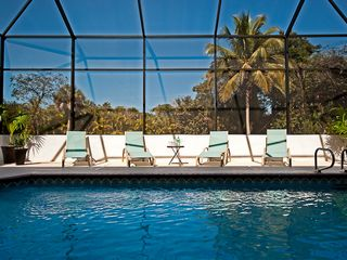 Sanibel Island house photo - Soak up the sun then cool off in the pool