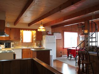 Whiteface Mountain chalet photo - The Kitchen - Command Central