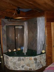 Big Sur house photo - Shower/tub/spa with skylight