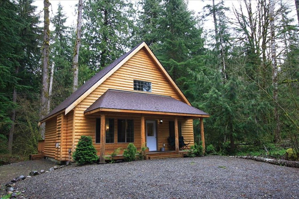 Mount Baker Log Cabin With Hot Tub Cable Amp Wifi Vrbo