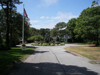 Hyannis - Hyannisport house photo - Our cul de sac street. (dead end). Great for kids to play!