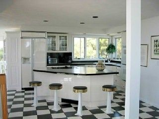 Katama house photo - Stylish Kitchen, Adjoining Great Room