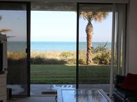 Amazing Ocean views from every room in this ground floor Beachfront unit