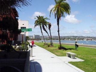 Mission Beach condo photo - The view of Sail Bay