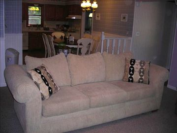 Living Room - Queen size sleeper sofa