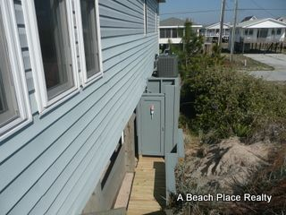 Surf City house photo - Enclosed Outdoor Shower