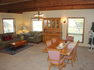 Other half of 20x40 living room/ dining room - Sandpoint house vacation rental photo