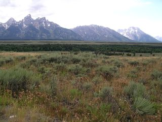 Driggs house photo - picture from the area (the tetons)