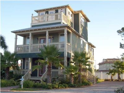 Front View of Our Emerald Coast Retreat