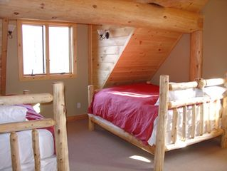 Newry cabin photo - Loft Bedroom