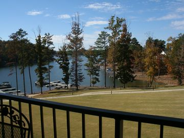 Lake Martin condo rental - View from the Balcony, but oh 'So Quiet & Peaceful'!