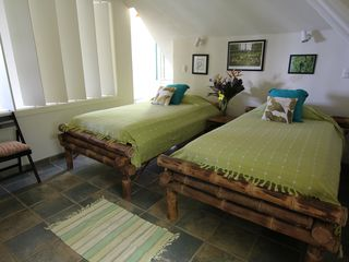 Dominical house photo - Bedroom with two single beds