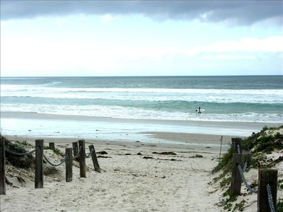 Monterey house rental - Walk through the Asilomar grounds to the beach.