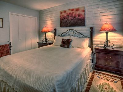 Each of Casitas has either a Queen or King-sized bed.