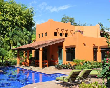 Villa Baha features private pool with lap lane and graceful, wide Baja steps