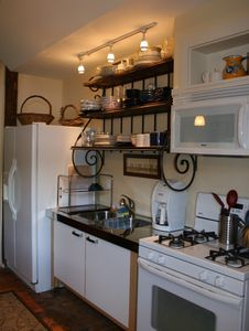Chester barn rental - Kitchen