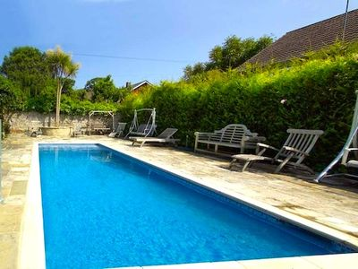 Ryde house rental - Private heated swimming pool at the back