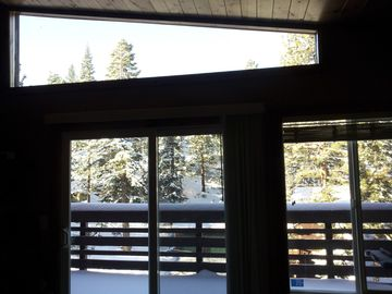 Heavenly Valley townhome rental - Taken Nov 2012 - Yes there is snow!