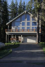 Soda Springs cabin rental - Picture yourself sitting on the deck viewing the lake