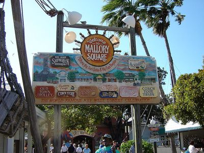 Visit the world famous Mallory Square and view the performers