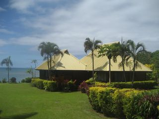 Taveuni house photo - View as you drive into Lomalagi House compound
