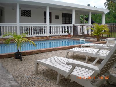 3 air-conditioned cottages secure + Internet + Pool 1-12 pers. The ROBER