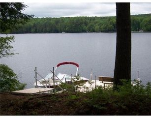 Bridgton house photo - Spacious dock