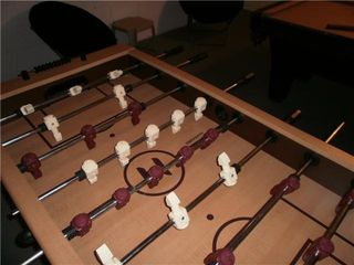 Emerald Island house photo - foosball