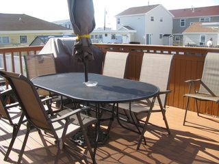 Wildwood Crest house photo - Deck table