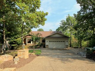 Hot Springs Village house photo - 26 Ciclamor Way is professionally landscaped