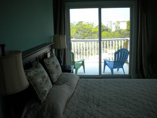 St George Island house photo - Top deck from master bedroom