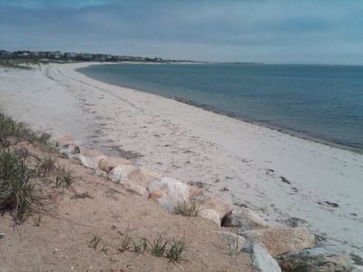 Cockle Cove Beach-a short walk or ride to safe, sandy warm water recreation