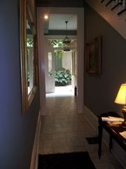 New Orleans studio photo - Foyer / Hallway through main house toward courtyard.