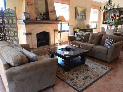 Boquete villa rental - Cozy Living Room