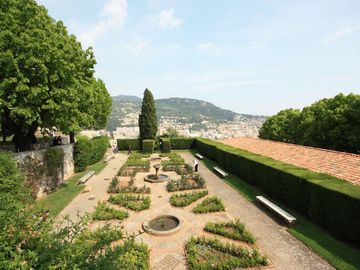 Panoramic view from the Monastery Gardens, beautiful and well worth a visit