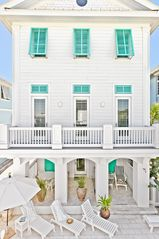 Rosemary Beach house photo - MAIN--Pool Side Courtyard