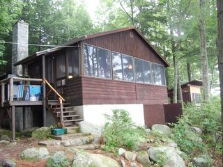 Newfound Lake cottage photo - Front of cabin