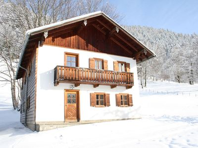 A holiday home at the edge of the wood and at an altitude of 930 metres.