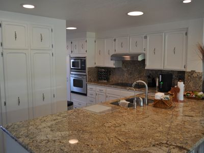 Newly remodeled gourmet kitchen