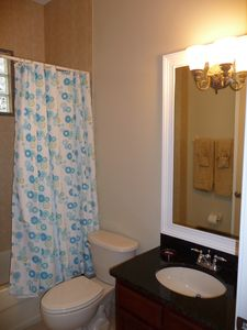 Polk City house rental - Full Bath #3, desinger lighting, Main house