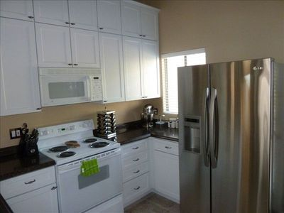 Another view of the kitchen with full amenities