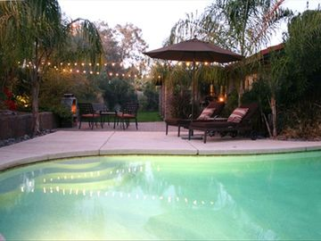 McCormick Ranch Scottsdale house rental - Great patio for soaking up the sun or splashing in the pool.