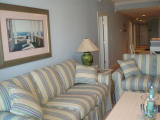 Vacation Homes in Ocean City condo photo - Comfy Living Room