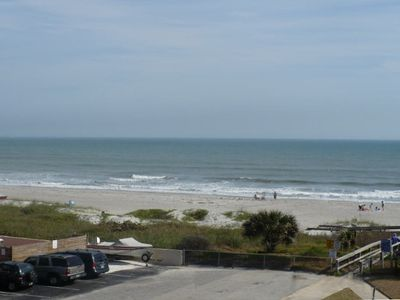 Northeast  side ocean view from balcony