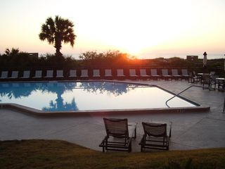 St. Augustine condo photo - Surf Sunrise on 2012 Luxury Pool Loungers