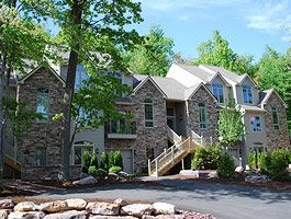 Big Boulder townhome rental - Beautiful Fall Foliage