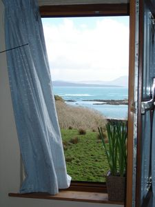 Caherdaniel apartment rental - Bedroom Window