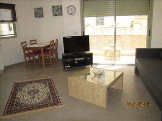 Tel Aviv apartment photo - Living Room and dining area