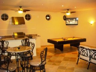 Formosa Gardens villa photo - Summer Kitchen/Sports Bar - Fully equipped kitchen - Large Gas grille, hot plate